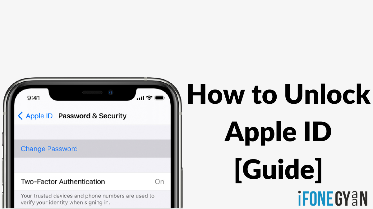 How to unlock Apple ID in 2020